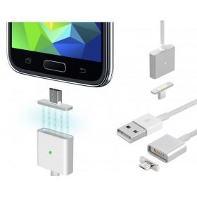 Adattatore magnetico caricabatterie Micro USB cavo ricarica Android 1 MT