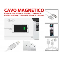 Aadattatore magnetico caricabatterie Micro USB cavo ricarica Apple iphone 6 - 1 MT
