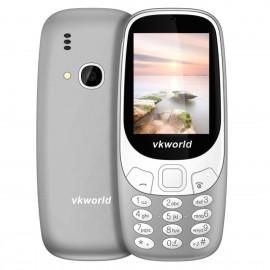 VKWORLD Z3310 FEATURE PHONE  2.4 INCH 3D SCREEN, 1450MAH BATTERY  CLASS K - GRIGIO