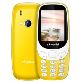 VKWORLD Z3310 FEATURE PHONE  2.4 INCH 3D SCREEN, 1450MAH BATTERY  CLASS K - GIALLO