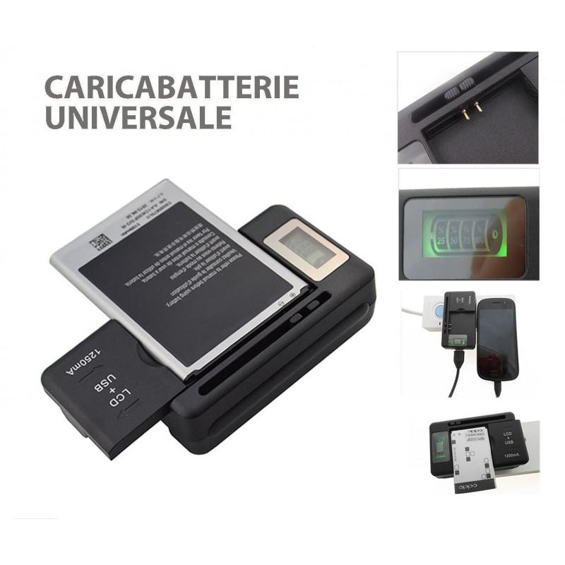 Caricabatterie Universale LCD Indicatore Schermo Per Telefoni Cellulari