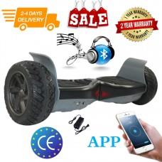 HOVERBOARD AZZURRO E FANTASIA 8,5 POLLICI BLUETOOTH SPEAKER SELF BALANCE