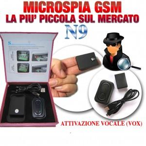 MICROSPIA AMBIENTALE GSM CON MICROFONO ALTA SENSIBILITA'
