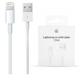 Apple MD818ZM/A Cavo Lightning USB per iPhone 5, 5S, 5C, 6, 6S, SE, 6S Plus, 7, 7 Plus, iPad Air, iPad PRO con Scatola