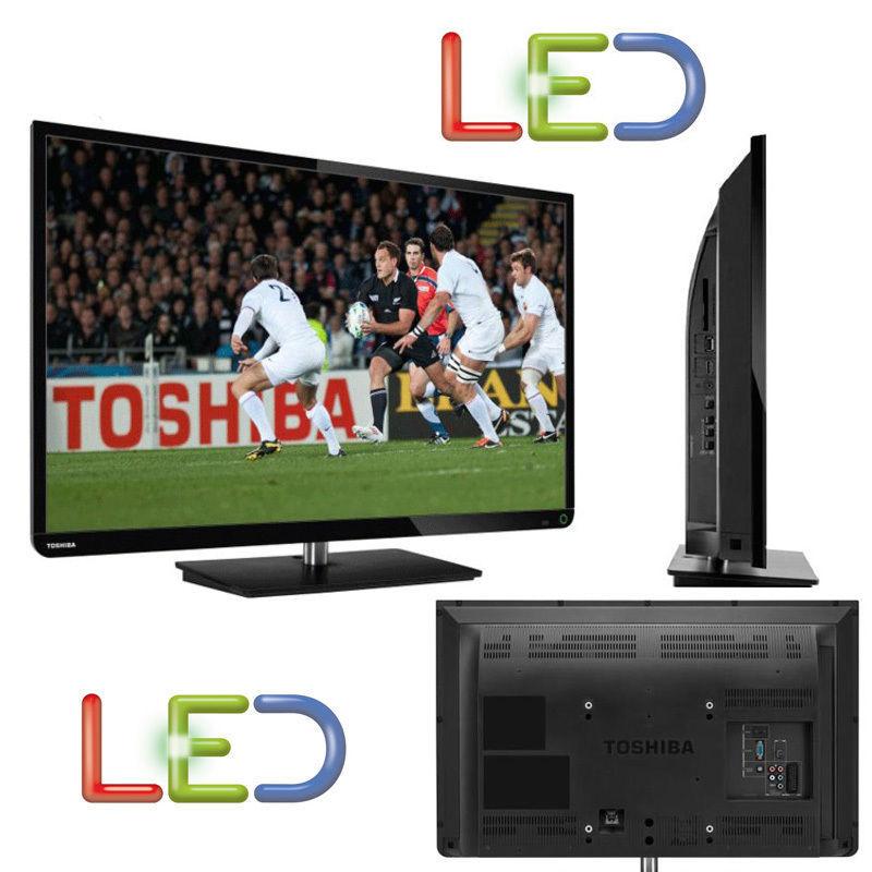 "TELEVISORE TV LED TOSHIBA 32"" HD READY 50HZ 2 HDMI USB DVB-T 32E2533DG GAR. 24"