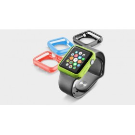 CASE COVER CUSTODIA IN GOMMA TPU GEL SILICONE Per Apple Smart Watch iWatch 42 mm