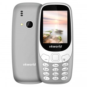 VKWORLD Z3310 FEATURE PHONE  2.4 INCH 3D SCREEN, 1450MAH BATTERY  CLASS K - GRIGIO