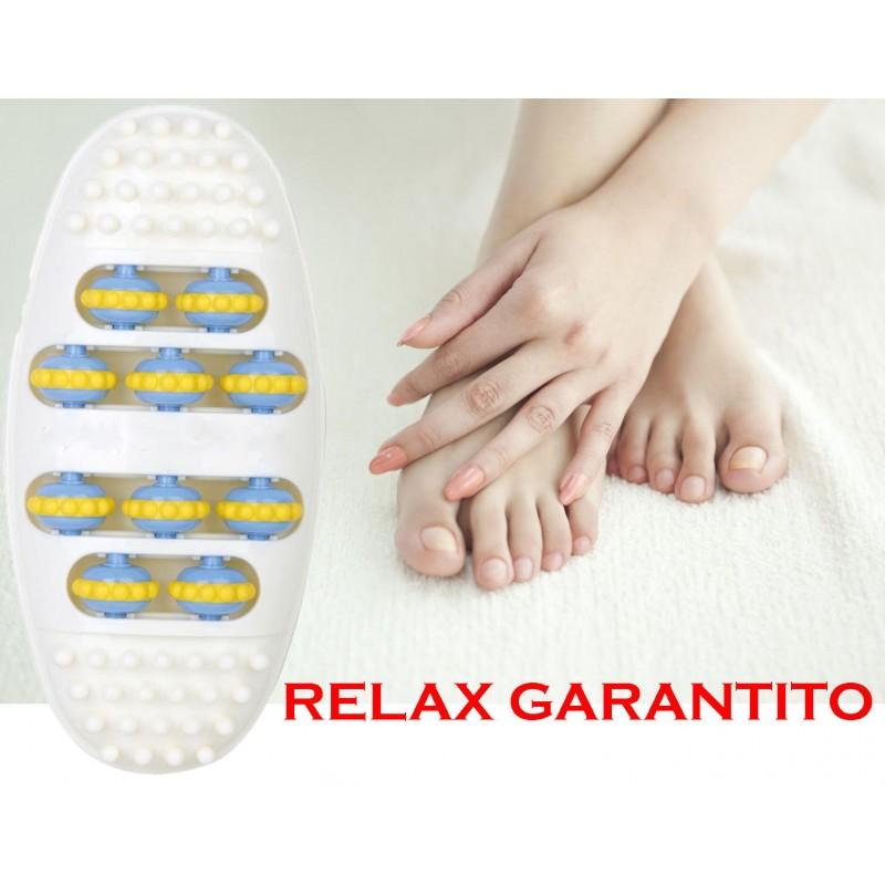 RULLO a piede cura del CORPO massaggio riflessologia relax sollievo