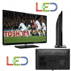 "TELEVISORE TV LED TOSHIBA 32"" HD READY 50HZ 2 HDMI USB DVB-T 32E2533DG GAR. 24"
